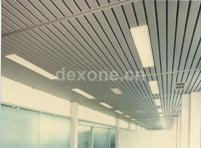 Vtr Series Linear Metal Ceiling Sun Louvers Metal Ceiling
